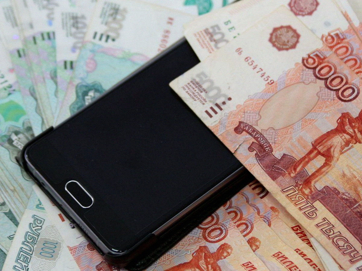Долг на мобильном телефоне