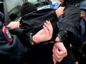 Задержала полиция